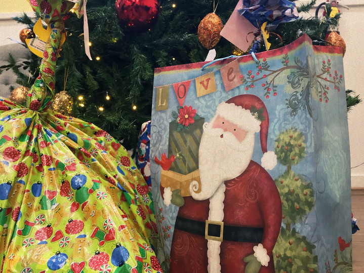 The Women Of Woodside Christmas gift donations