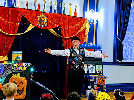 Halloween Magic Show