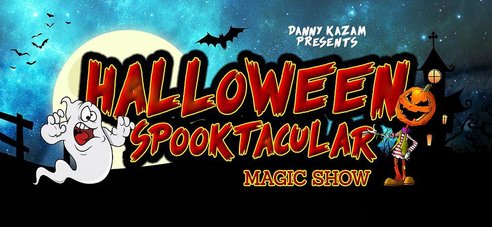 Halloween Spooktacular magic show