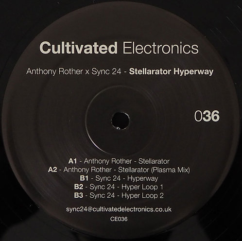 Anthony RotherXSync 24–Stellarator Hyperway