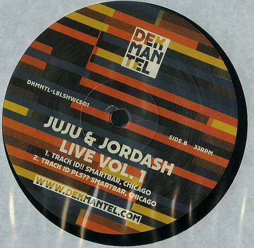 Juju & Jordash ‎– Live Vol. 1