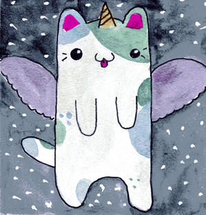 Flying Caticorn
