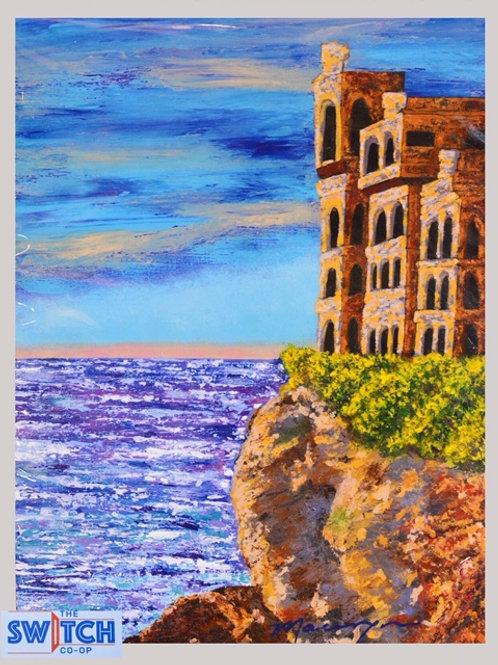Castle Overlooking the Ocean