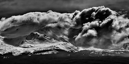 Mt Massive Spring Storm Metal Print
