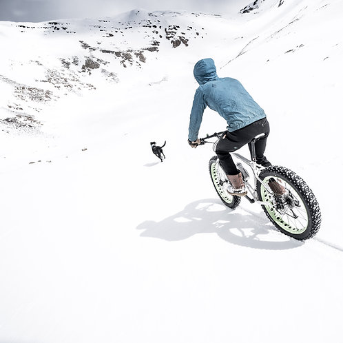 Dyer Fat Bike Metal Print