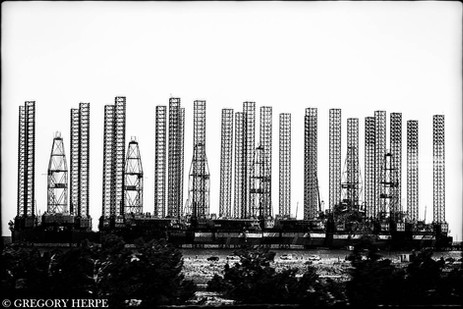 Oil Platform - Baku, Azerbaijan