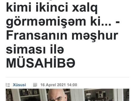 In Azerbaijan Magazine Publika