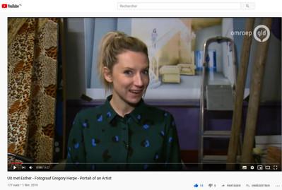 Interview on Dutch TV 2019 - Uit met Esther, on Omroep Tv - The Netherlands