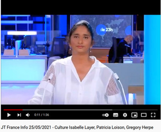 JT France Info 25/05/21 - Patricia Loison/Isabelle Layer