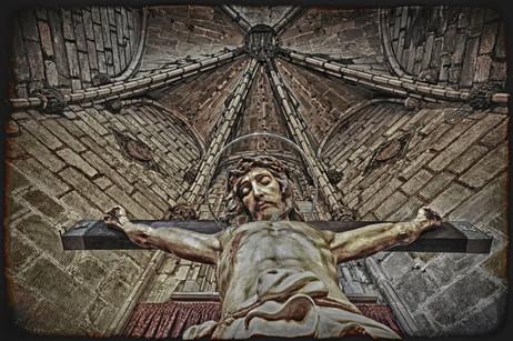 Jesus Christus - Barcelona, Spain