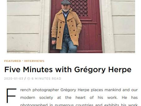My Interview in Singulart Art Magazine! January 2020
