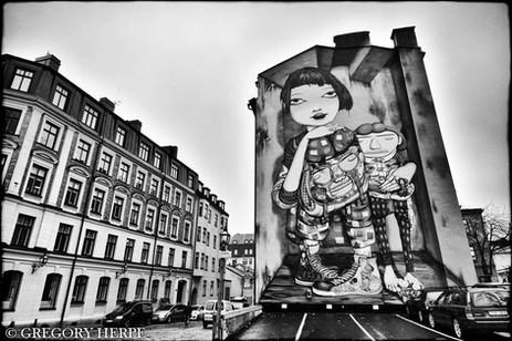 Os Gemeos - Stockholm, Sweden