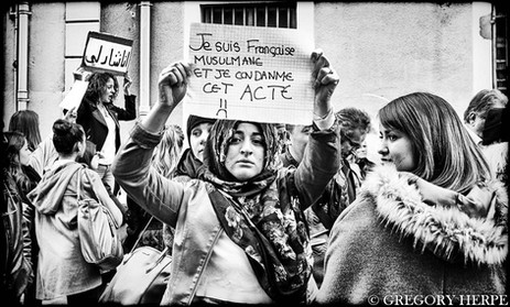 Not in my Name - Perpignan, France