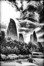 The Flame Towers II - Baku, Azerbaijan