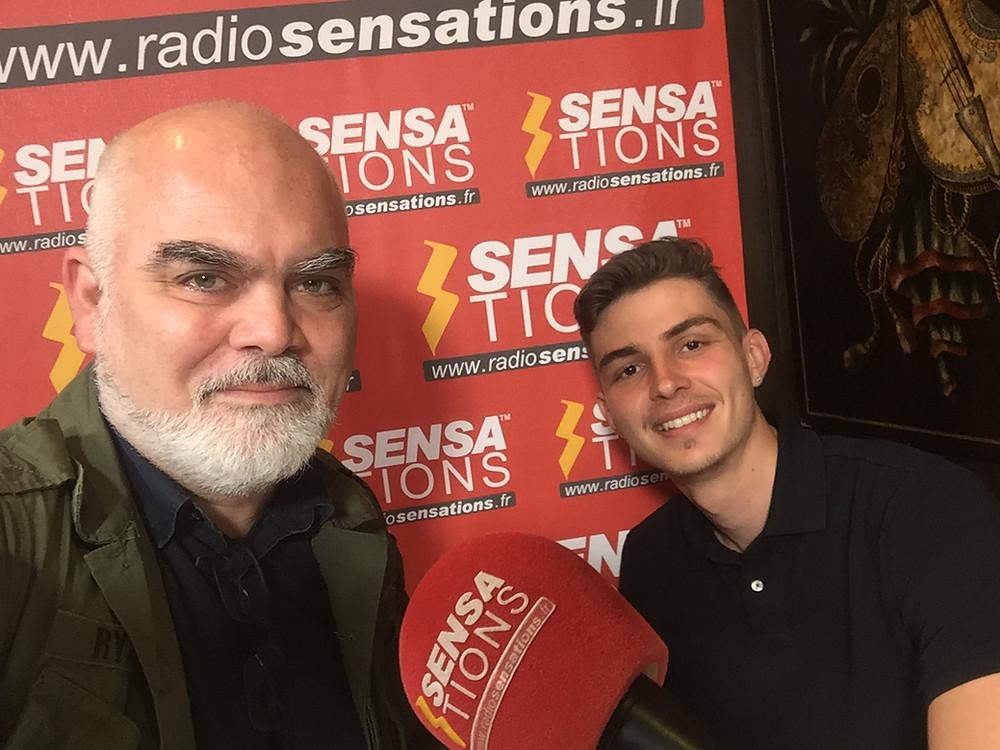 Gregory Herpe & Mathis Godefroy on Radio Sensations