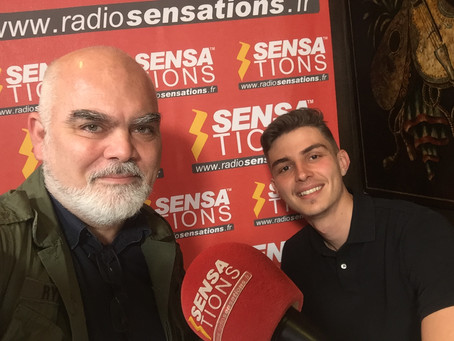 My interview on French Radio!