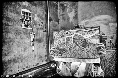 Banksy - Bristol, England