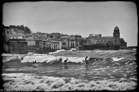 Surfing USA - Collioure, France