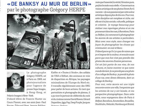 Paris 17 - de Banksy au mur de Berlin