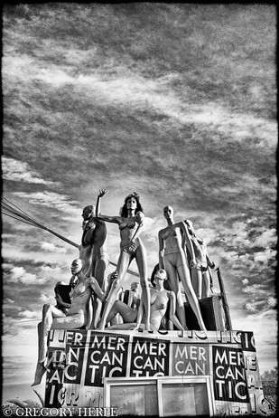 Nude Market - Barcelona, Spain