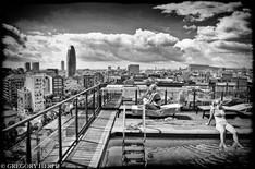 Girls on the Roof - Barcelona, Spain