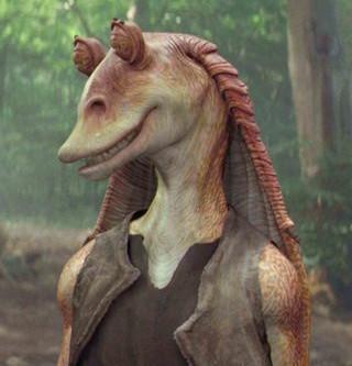 I tracked down Jar Jar Binks from Star Wars...