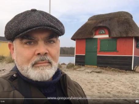 Aerø island, Denmark - January 2020