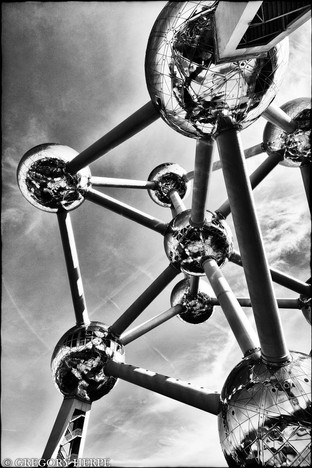Bubbles in the Sky - Brussels, Belgium
