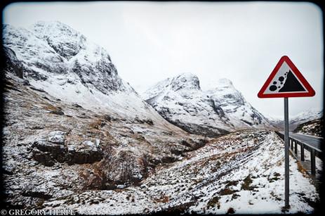 Mountains Fall - Kintail, Scotland