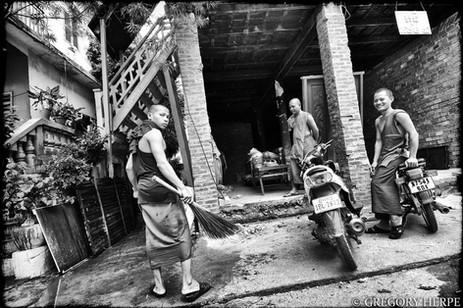 Housework - Phnom Penh, Cambodia