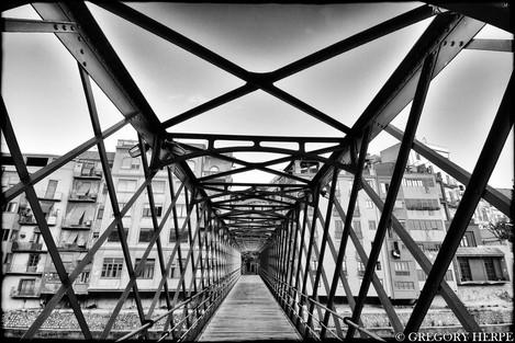 Eiffel Bridge - Girona, Spain