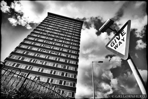 The Divis Tower