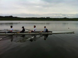 Men's Novice 4 enjoying thier 4th row