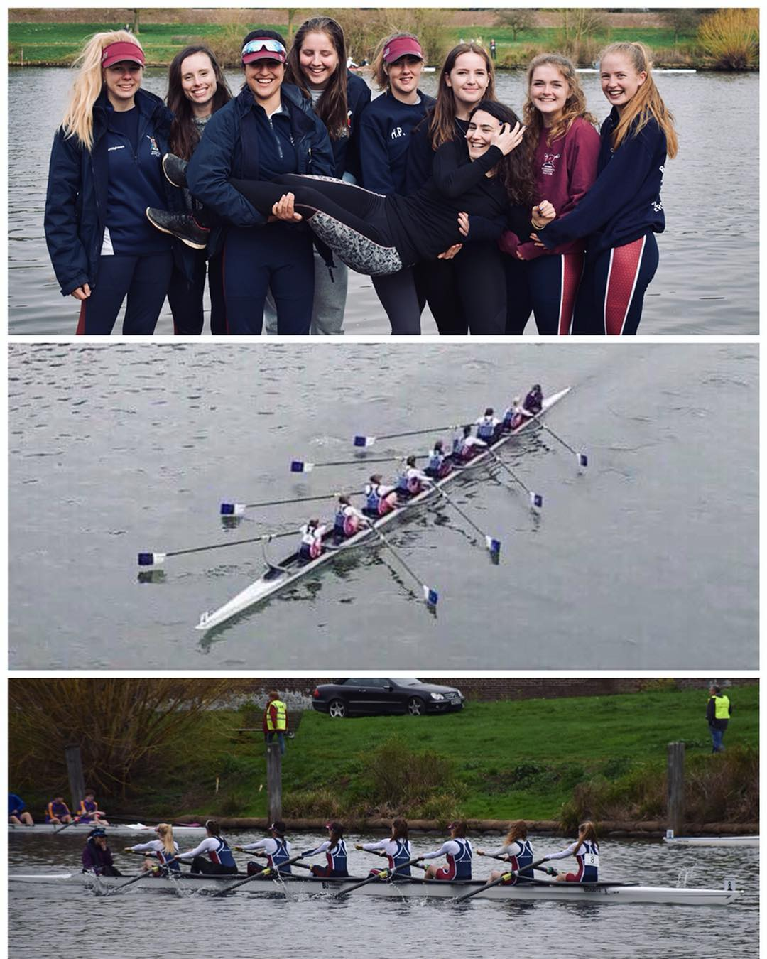 BUBC Women Storm the Heads