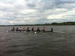 Mens 1stVIII blowing out the cobwebs