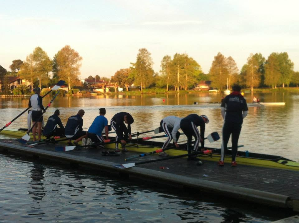 2nd VIII's morning outing