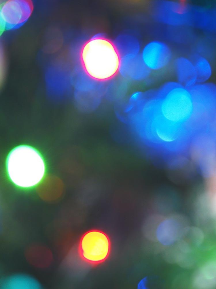 fairy light abstract