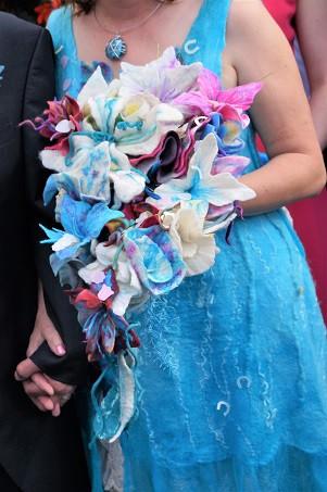 Jeniveve Dress and Bouquet