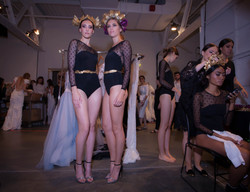Backstage @ New York Fashion Week