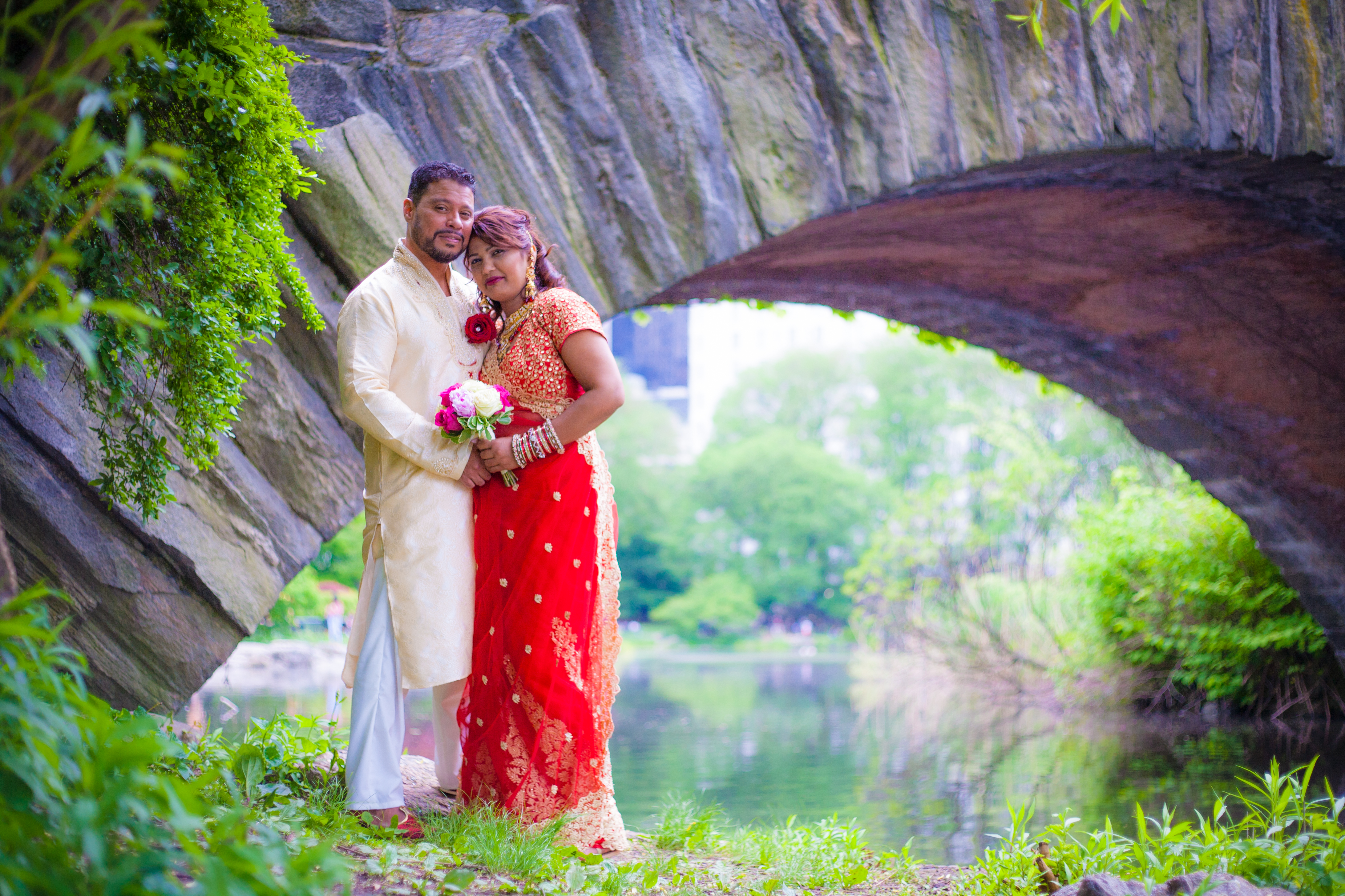 Indian Wedding in Central Park