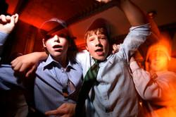 Boys dancing, Top of The Rock, NYC
