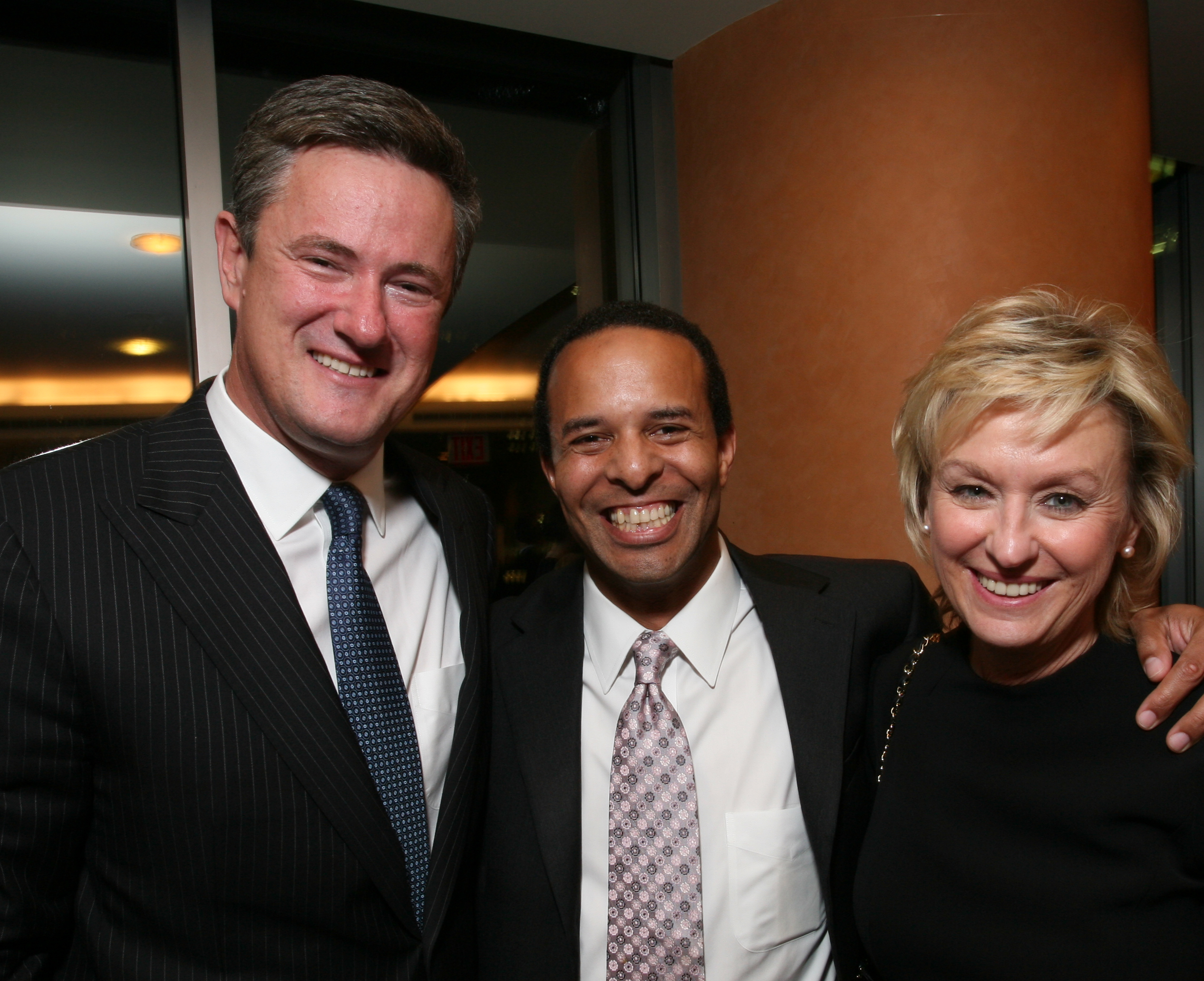 Tina Brown and Joe Scarborough