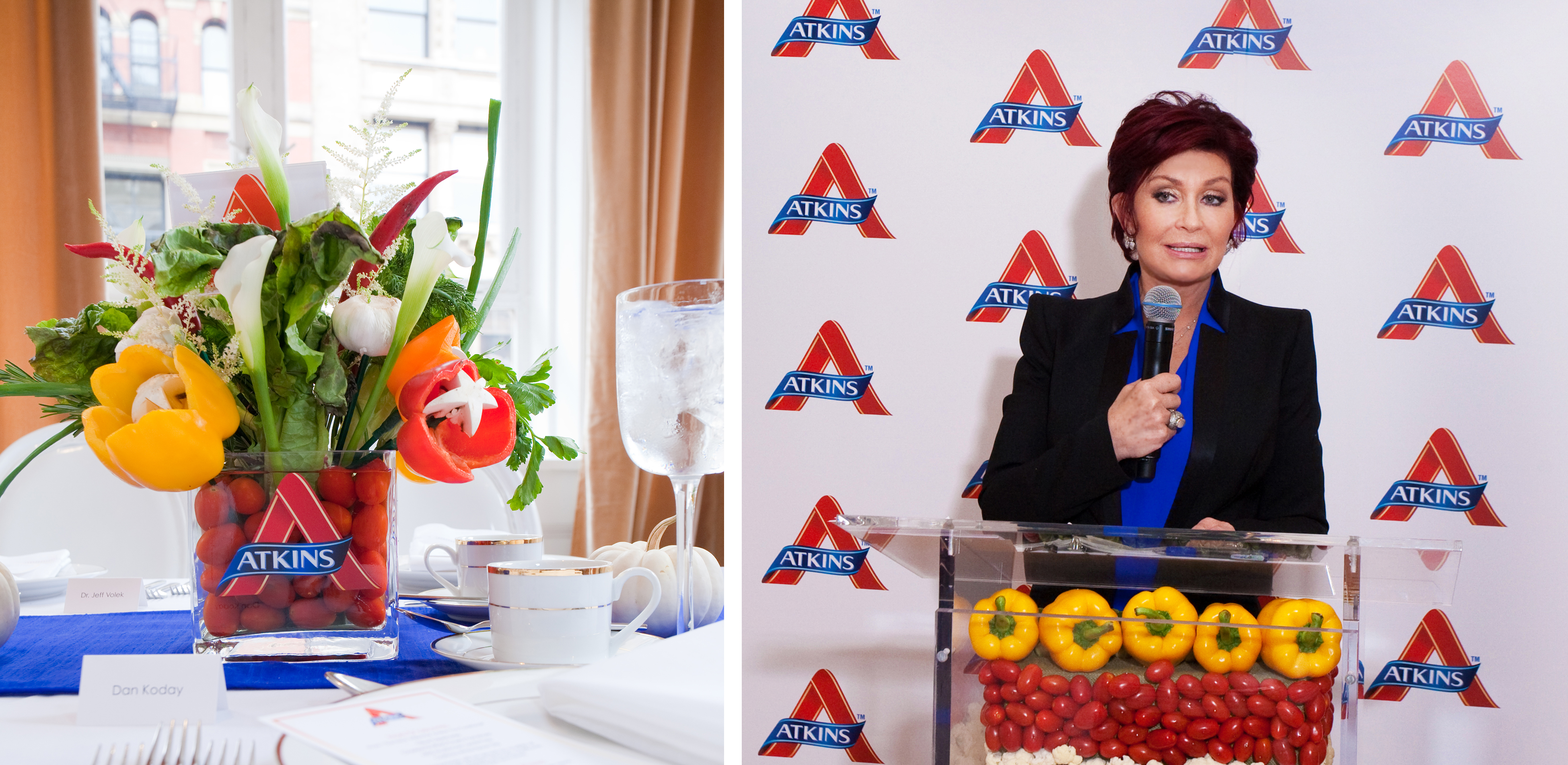 Sharon Osbourne for Atkins Foods