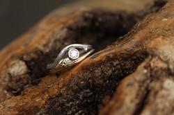 B-jewellery Twig ring 2