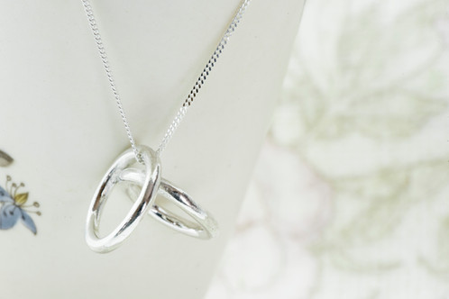 ring wedding il magic holder pendant necklace engagement listing