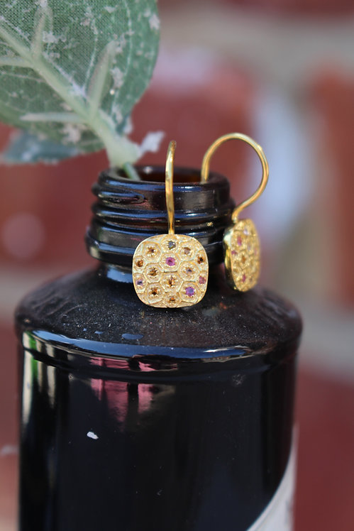 Gold Moroccan Drops