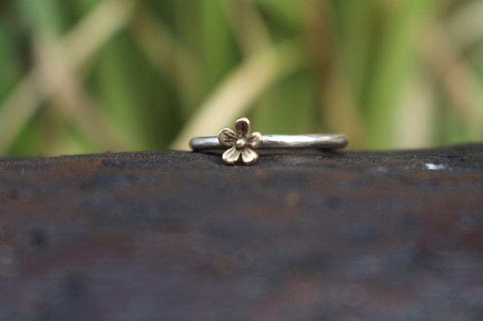 Hazel's Single Flower Ring