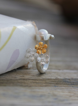 B-Jewellery Flower ring3  jpg