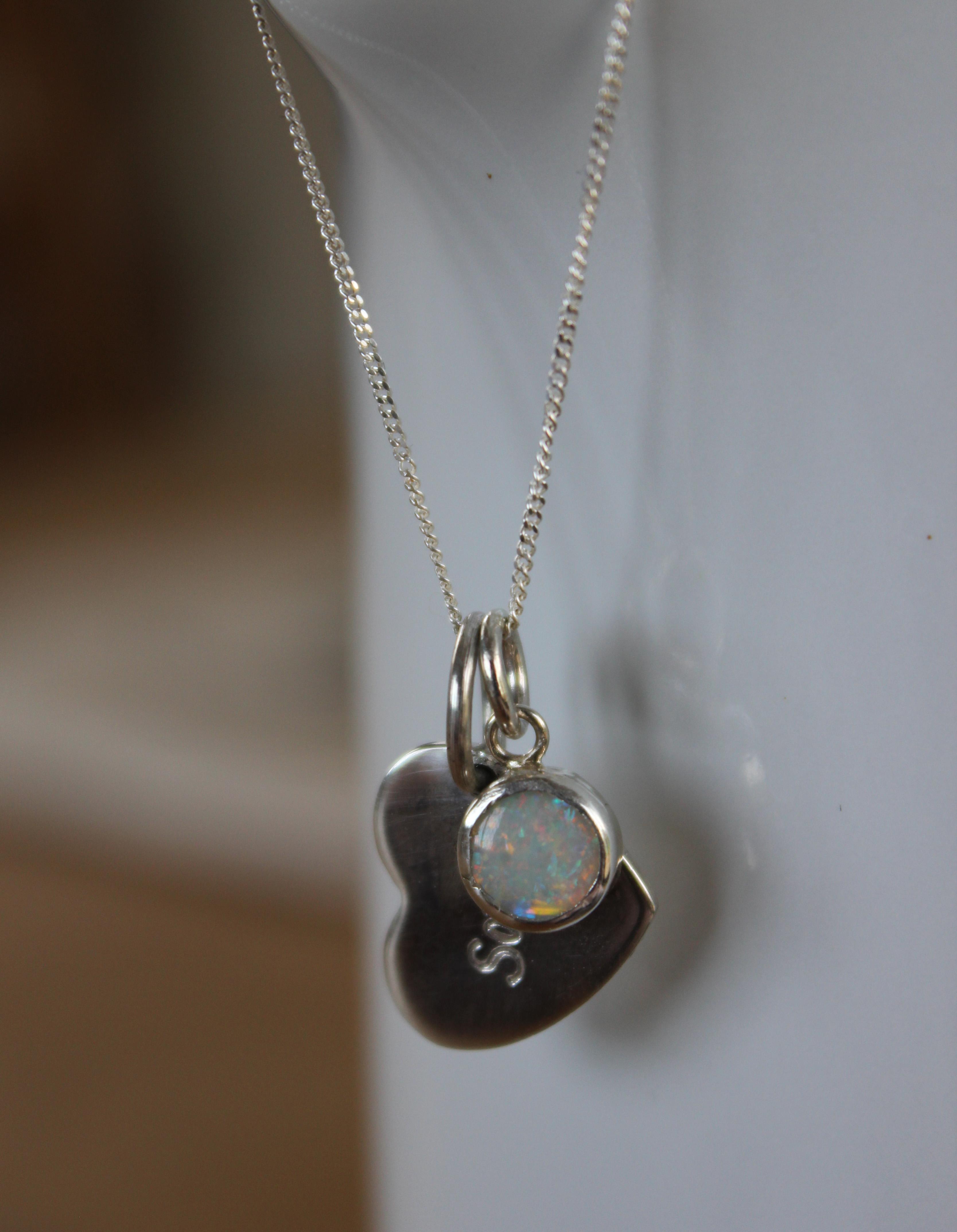 birthstone pendant