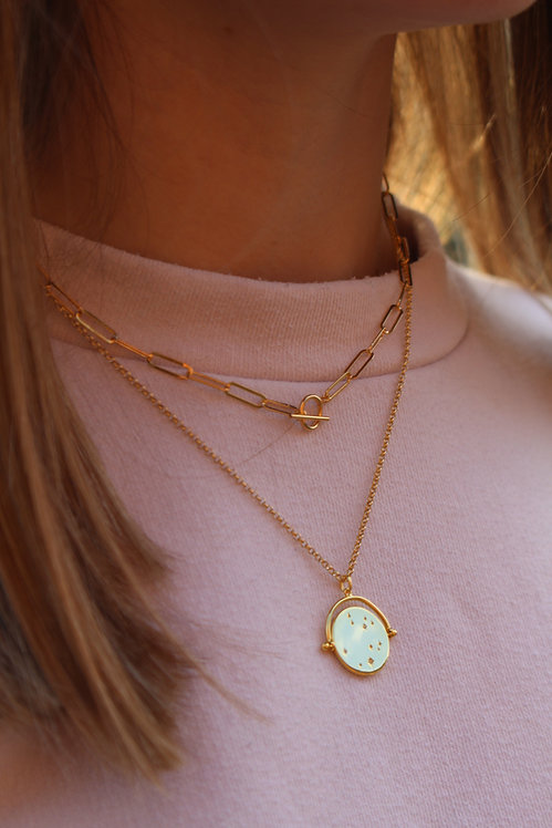 Sky Spinner Necklace